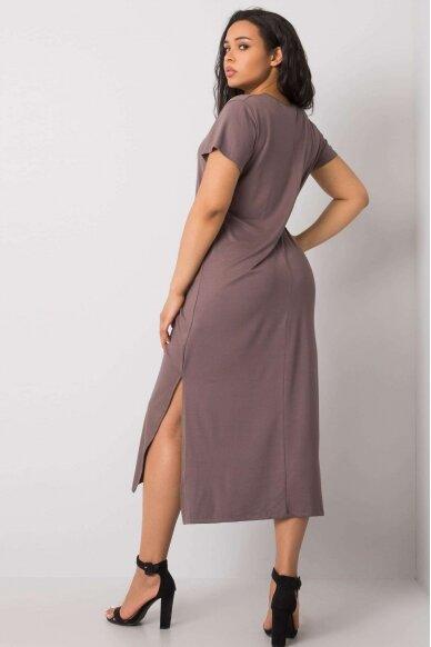 Kapučino spalvos suknelė MOD989 3
