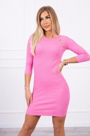 Šviesiai rožinė suknelė MOD703