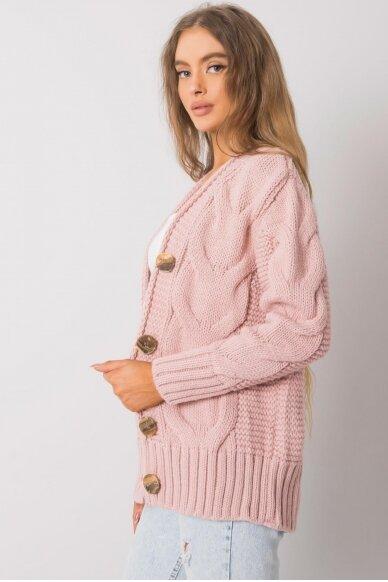 Nude spalvos megztinis MOD1364 3
