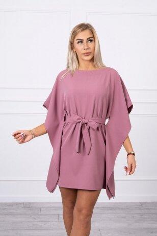 Tamsiai rožinė suknelė MOD497