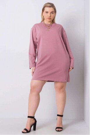 Tamsiai rožinė suknelė MOD890