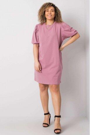 Tamsiai rožinė suknelė MOD892