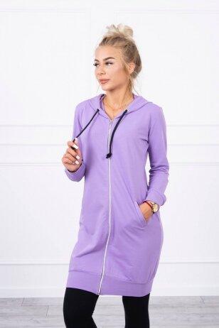 Tamsiai violetinės spalvos marškinėliai MOD008