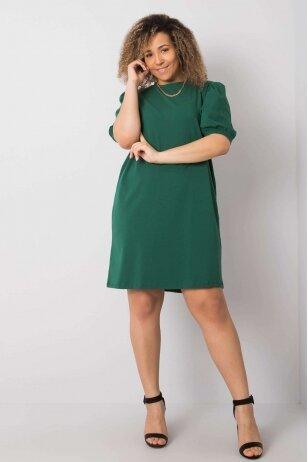 Tamsiai žalia suknelė MOD892