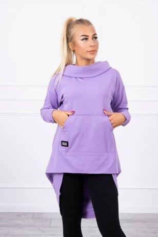 Violetinės spalvos marškinėliai MOD755