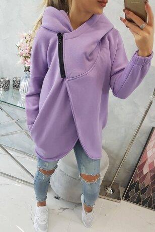 Violetinės spalvos marškinėliai MOD761