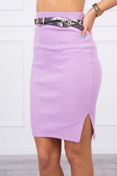 Violetinis sijonas MOD690 4
